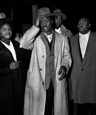 Following the bombing of his home, Shuttlesworth leads group to desegregate Birmingham city buses.